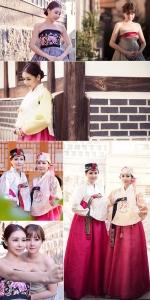렛미인4에서 변신을 보여준 렛미인 김희은, 박상은이 추석 맞이 한복 화보를 공개했다.