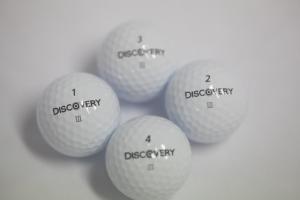 에이스골프가 정확한 퍼팅라인을 마킹한 발란스 골프공 디스커버리 III를 출시했다. (사진제공: 에이스골프)