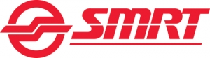 SMRT 로고 (사진제공: Toshiba Corporation and Singapore Rail Engineering Pte. Ltd.)