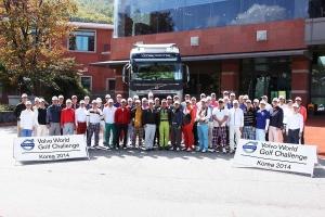 볼보트럭코리아에서 2014 볼보 월드 골프 챌린지 코리아 파이널을 개최했다. (사진제공: 볼보트럭코리아)
