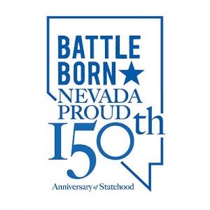 네바다 주 150주년 기념로고