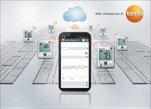 신제품 무선 온습도 측정 시스템 테스토 사베리스2 (사진제공: 테스토코리아)