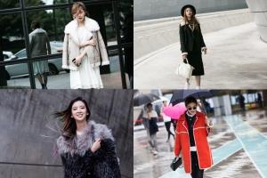 모델 아이린-김진경-고소현-송해나, 서울-파리 패션위크 접수