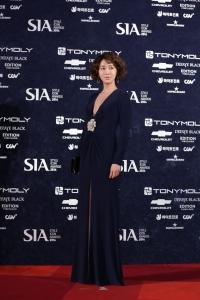 스타일아이콘어워즈 레드카펫 황소희 패션 화제 (사진제공: CJ E&M)