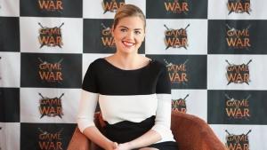 게임 오브 워 - 파이어 에이지 홍보모델 케이트 업튼이 지난 21일 내한하고, 한국 팬들을 위해 촬영한 인터뷰 영상을 공개했다.
