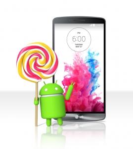 LG전자가 국내에서 안드로이드 운영체제 5.0 버전 롤리팝 업그레이드를 실시한다.