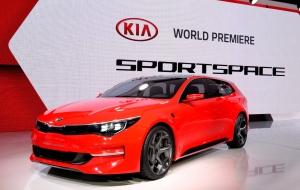 기아차가 2015 제네바 모터쇼에서 세계 최초로 공개한 콘셉트카 스포츠스페이스