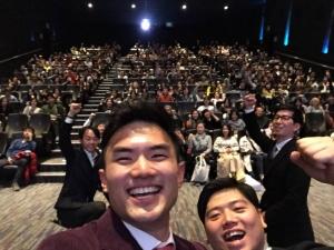 20일 오후 7시 서울 코엑스 메가박스에서 영화 고삐의 배급사 물색을 위한 첫 공식 시사회가 열렸다. (사진제공: 럭키브라더스)