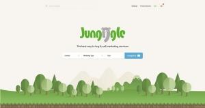 게임베리가 준비중인 글로벌 검색 구매 엔진 정글의 메인화면