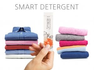 스마클, 커피믹스처럼 찢어서 사용하는 친환경 스마트 세탁세제 출시