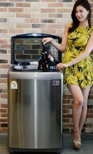 LG전자, 국내 첫 전자동 스팀 세탁기 프리미엄급 '블랙라벨' 출시