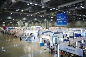 2014 청정·여과·분리 기술전시회 전경 (사진제공: 광륭)
