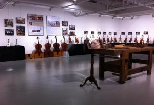 전시회 전경 (사진제공: 한국 마에스트로 바이올린 제작가협회)