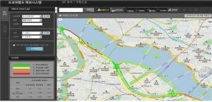 위험도로 예보시스템 예시화면 (사진제공: 도로교통공단)
