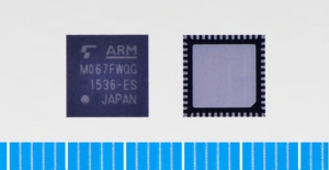 도시바 USB 디바이스 조절기 내장 ARM® Cortex®-M0코어 기반 마이크로컨트롤러 TMPM067FWQG (사진제공: Toshiba Semiconductor & Storage Products Company)