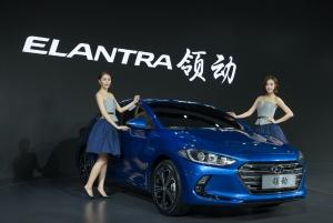 2015 광저우 모터쇼에서 최초로 공개된 중국형 신형 아반떼 (사진제공: 현대자동차)