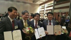 리얼타임테크가 대한민국SW대상 대통령상을 수상했다 (사진제공: 리얼타임테크)