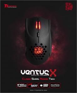 에어로 다이나믹 컨셉 써멀테이크 티티이스포츠 벤투스X 마우스가 출시됐다 (사진제공: 다빈치인터내셔널)