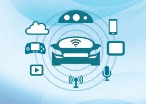 TI 코리아 자동차 인포테인먼트 시스템 개념도 (사진제공: TI코리아)