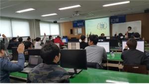 동명대 9~11일 해킹방어훈련장 구축&교육 모습 (사진제공: 동명대학교)