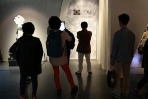 예술의전당 가우디전 걷기명상 (사진제공: 아침편지문화재단)