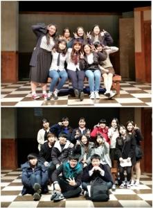 배우를 꿈꾸는 사람들 2기 학생 단체사진 (사진제공: 공연예술제작소 비상)