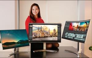 LG전자가 혁신적인 기술을 적용한 프리미엄 모니터 신제품을 선보여 글로벌 시장에서 리더십을 강화한다 (사진제공: LG전자)