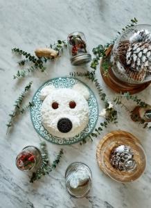 빌리엔젤 크리스마스 케이크 엔젤베어 케이크 (사진제공: 빌리엔젤)