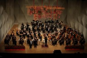 미디어윌그룹이 주최한 부천필하모닉오케스트라 2015 제야음악회가 12월 31일 부천시민회관 대공연장에서 성황리에 종료됐다. (사진제공: 미디어윌)