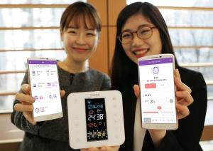 LG유플러스가 린나이코리아와 손잡고 IoT 보일러를 선보인다 (사진제공: LG유플러스)