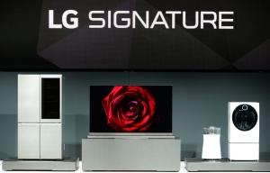 LG전자의 초프리미엄 가전 시장 공략을 위한 통합 브랜드인 LG 시그니처 (사진제공: LG전자)