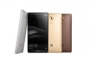 화웨이 메이트 8은 샴페인 골드, 문라이트 실버, 스페이스 그레이, 모카 브라운의 4가지 우아한 색상으로 출시된다. (사진제공: Huawei Consumer Business Group)