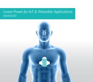 의료ㆍ피트니스 웨어러블, 사물인터넷 분야에서 전력과 배터리 수명을 최적화하는 맥심 인터그레이티드 전력관리칩(PMIC) 'MAX14720'을 적용한 애플리케이션 이미지 (사진제공: 맥심 인터그레이티드 프로덕트 코리아)