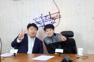소셜스타 토크쇼 미개인에 출연한 이제석 선수 (사진제공: 열린사람들)