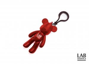 랩 시리즈가 붉은 원숭이 해를 기념해1월 한달 간 증정하는 럭키베어 키링 이미지 (사진제공: 랩 시리즈)