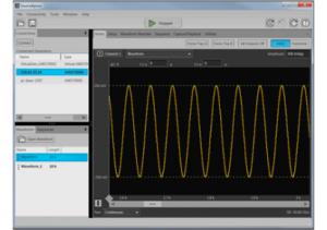 임의파형 발생기 컨트롤 및 PC기반 애플리케이션 용 소프트웨어 (사진제공: 한국텍트로닉스)