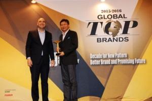 ZTE가 IDG 글로벌 탑 3 브랜드 시상식에서 4개 부문을 수상했다. (사진제공: ZTE Corporation)