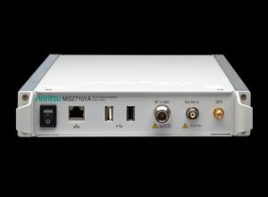 안리쓰가 출시한 Remote Spectrum Monitor MS27101A (사진제공: 안리쓰코퍼레이션)
