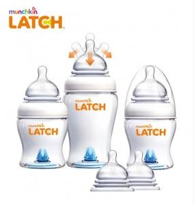 YKBnC의 글로벌 유아용품전문 브랜드 먼치킨에서 새로운 수유용품 라인 래치를 출시 했다 (사진제공: 와이케이비앤씨)