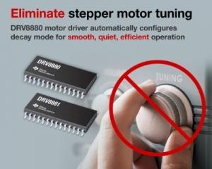 TI가 자사의 고성능 스텝퍼 모터 드라이버 제품군에 새로운 24V 스텝퍼 모터용 디바이스 3종을 추가한다고 밝혔다 (사진제공: TI코리아)