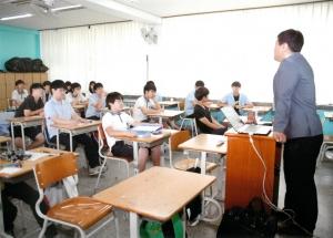 여의도중학교 3D프린터 교육 모습 (사진제공: 쓰리디아이템즈)