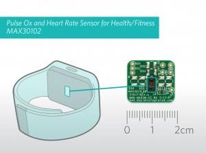 헬스케어 및 피트니스(스포츠) 웨어러블을 위한 맥심의 산소포화도ㆍ심박수 측정 통합 센서 모듈 MAX30102 (사진제공: 맥심 인터그레이티드 프로덕트 코리아)