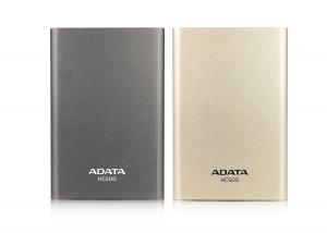 ADATA HC500 시리즈 (좌) 티타늄 (우) 골드 (사진제공: SH트레이딩)