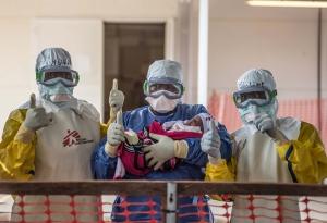 국경없는의사회는 국제 보건 사회가 이번 서아프리카 에볼라 사태를 교훈으로 삼아야 한다고 주장했다 (사진제공: 국경없는의사회)