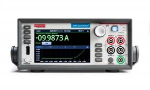 키슬리 2461소스미터는 최대 10A, 1000W의 고출력의 전력 소자를 측정, 평가 할 수 있는  터치 가능한 그래픽 인터페이스 기능이 새롭게 추가됐다 (사진제공: 한국텍트로닉스)