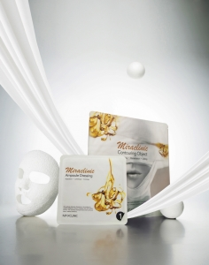 맥스클리닉 신제품 미라클리닉 석고 코르셋 마스크 (사진제공: 엔앤비랩)