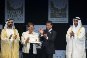 자예드 미래 에너지상(Zayed Future Energy Prize) 개회식 (사진제공: Zayed Future Energy Prize)