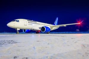 봄바디어의 최신 C시리즈 항공기 프로그램이 완전 양산체제에 돌입했다 (사진제공: Bombardier)