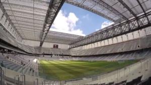 파나소닉 브라질(Panasonic Brazil), 아레나 다 바이샤다(Arena da Baixada) 설치로 경기장 상황을 관중에게 풀 비전으로 제공한다. (사진제공: Panasonic Corporation)