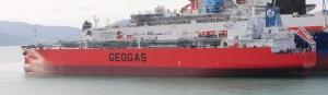 현대삼호중공업이 지난 22일 5만 4,000 DWT 규모의 LPG선을 인도해 선박 건조 6000만 DWT를 달성했다 (사진제공: 현대삼호중공업)